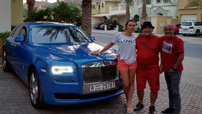 La ¿pobre? fortuna de Maradona que heredarán sus hijos