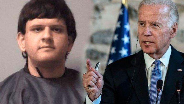 Arrestaron a joven que planeaba matar a Joe Biden