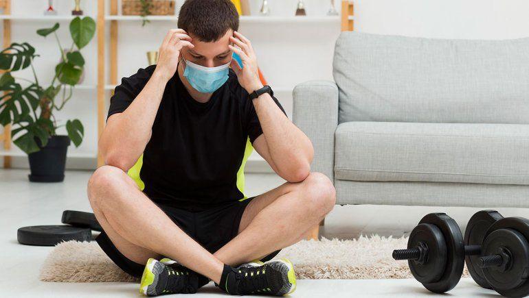 La pausa en el deporte llevó a los atletas a terapia