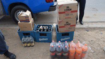 Desbaratan una casa que vendía alcohol de manera clandestina