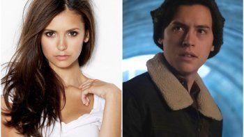 ¿Nina Dobrev y Cole Sprouse juntos en Riverdale?