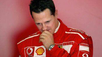Schumacheren una lucha desigual.