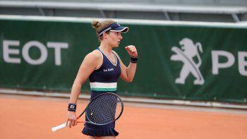 Nadia sigue dando alegrías al tenis argentino.