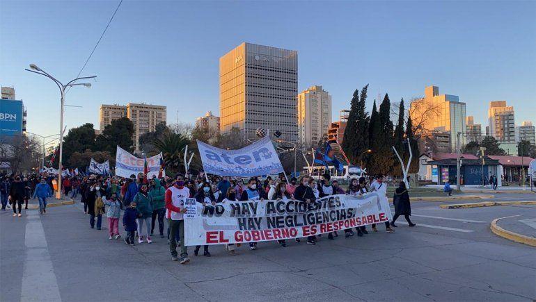 Sin clases por paro de ATEN a un mes de la explosión en Aguada San Roque