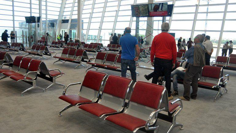 Inauguraron la ampliación del aeropuerto y habrá colectivos que lo unan con la ETON