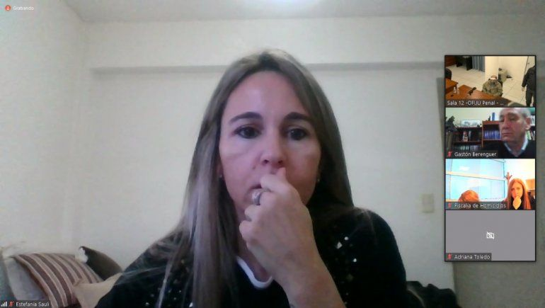 La jueza Estefanía Sauli impuso la pena de prisión perpetua al femicida Fabián Lucini.