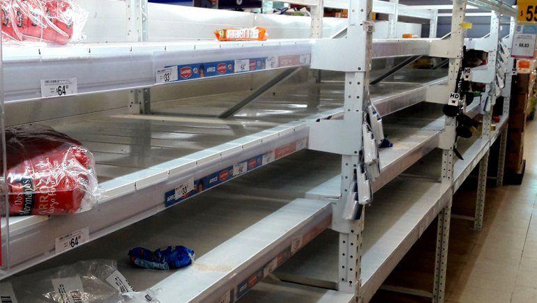 ¿Dónde está el arroz? En los supermercados hay poca oferta