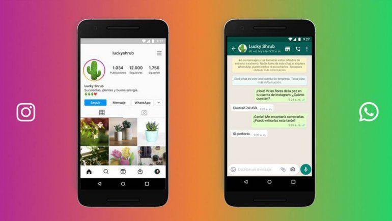 Instagram y WhatsApp son dos de las plataformas más usadas del mundo