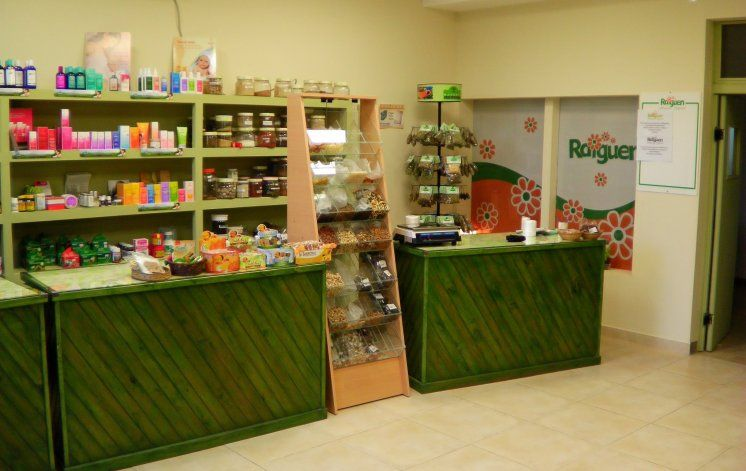 El almacén de productos saludables cuando funcionaba en el local de Roca 135.