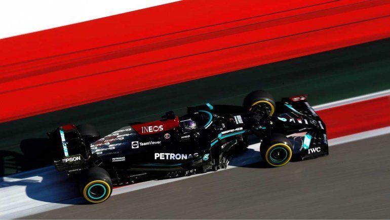 Hamilton alcanzó su victoria número 100 en la Fórmula 1 en Rusia