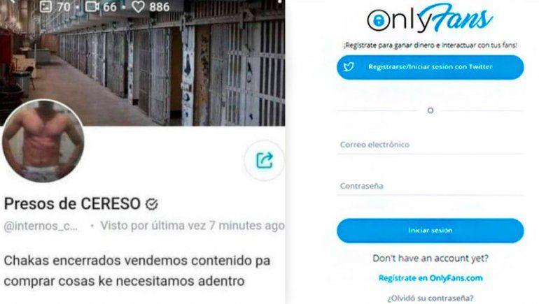 Twitter: presos venden fotos hot en OnlyFans desde la cárcel