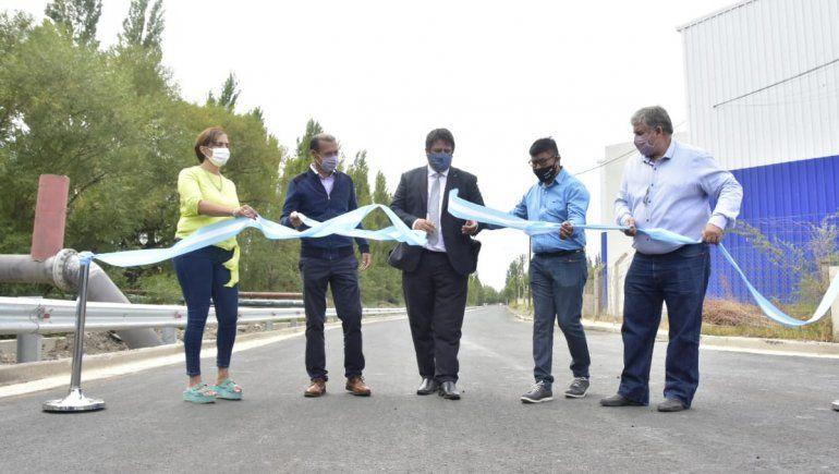 El municipio inauguró 40 cuadras de asfalto en el oeste de la ciudad