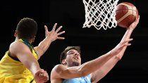basquet: australia aplasto a la argentina y la elimino de tokio 2020