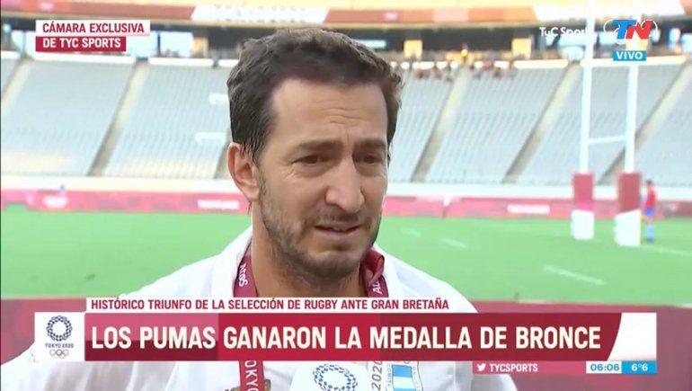 Rugby: la emotiva dedicatoria del DT de Los Pumas 7s tras el bronce
