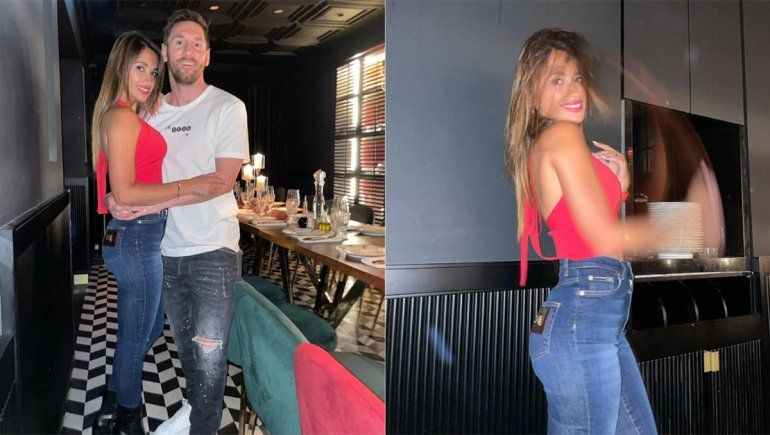 La cena de los Messi con un viejo amigo: el menú y las fotos