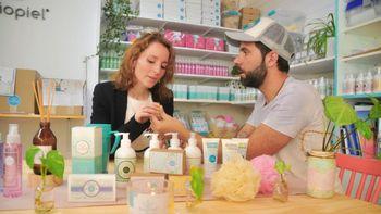 Crearon una exitosa empresa de cosmética con base en Pehuenia