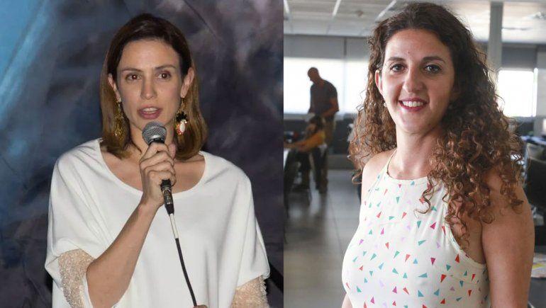 Candidatas neuquinas del PJ, junto a funcionarios nacionales