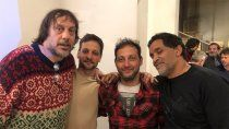 fotos: el reencuentro del elenco de okupas a 20 anos del exito