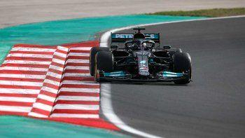 Lewis Hamilton fue el más veloz del viernes de la Fórmula 1 en Turquía