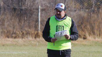Gustavo Raggio, el técnico de Cipo.