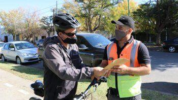 sigue la campana de concientizacion a ciclistas neuquinos