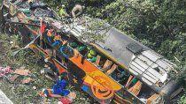 tragedia en brasil: se accidento un micro y hay 21 muertos