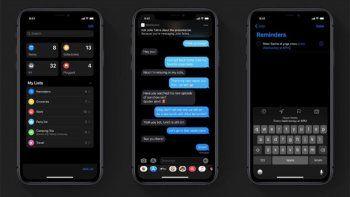 El modo oscuro de Whatsapp finalmente llegó a iOS