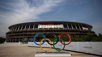 El estadio Olímpico donde se desarrollará la ceremonia inaugural de los Juegos Olímpicos de Japón.