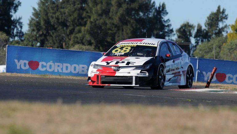 Santero dominó el sábado del Súper TC2000 en Paraná
