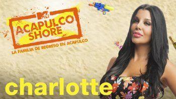 Charlotte Caniggia estará en reality de MTV y Paramount Plus