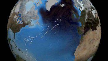 alerta por la mayor desaleracion de la corriente del golfo