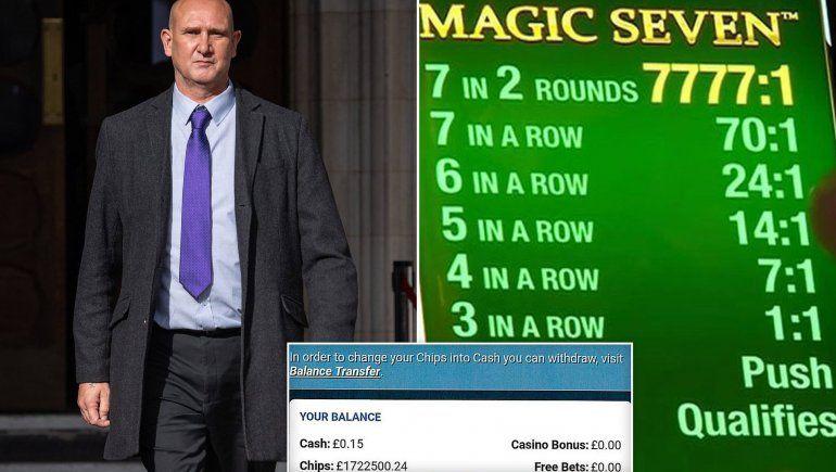 Andy Green inició la causa judicial hace dos años y todavía no le pagan su millonario premio.