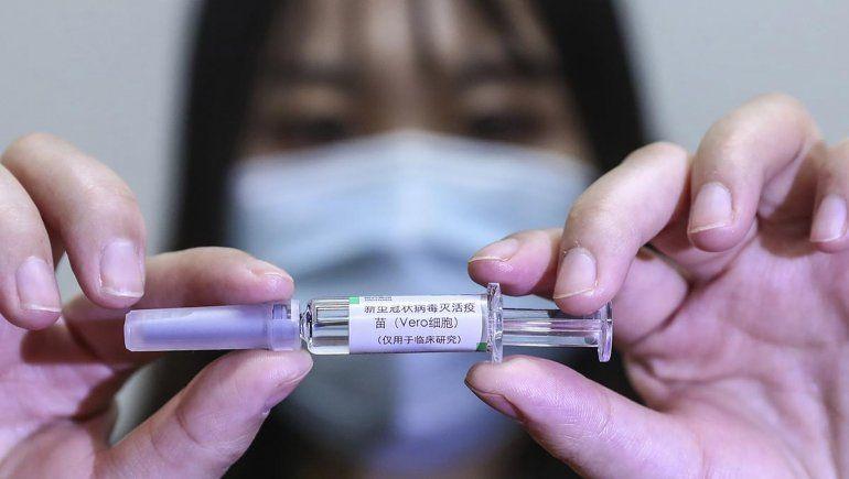 Argentina prueba la fase 3 de una vacuna china