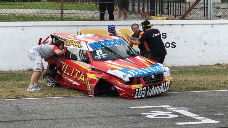 La Clase 1 del Turismo Pista vivió un espectacular accidente en Buenos Aires