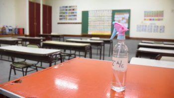 la presencialidad retorno con las escuelas vacias en neuquen