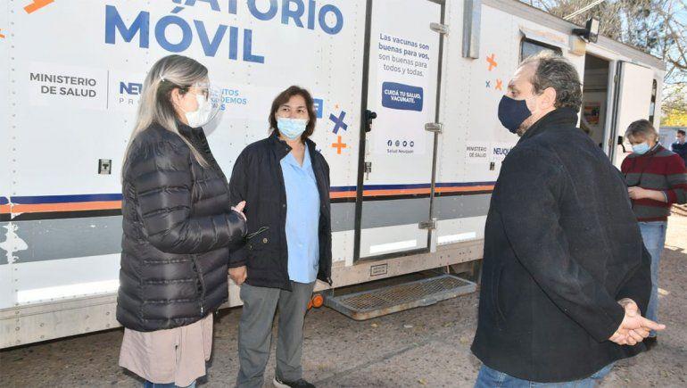 El hospital de Rincón sumó profesionales y un tráiler para atender pacientes