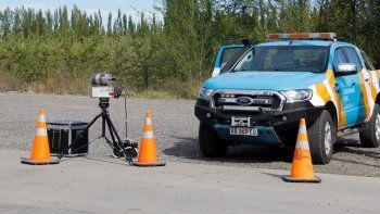 Ruta 22: el control de velocidad con radares tiene un punto fijo