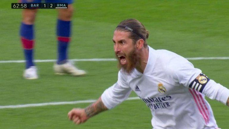 Real Madrid venció al Barcelona en un derbi electrizante