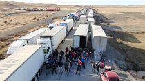 camioneros chilenos levantan el contrapiquete
