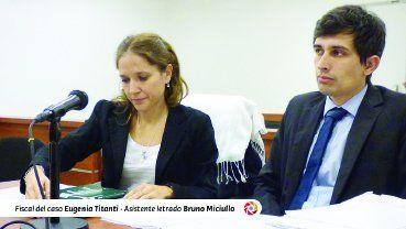 La fiscal Eugenia Titanti presentó el acuerdo al que arribaron.