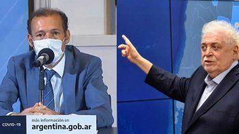 Gutiérrez y Ginés se reúnen para analizar estrategias sanitarias