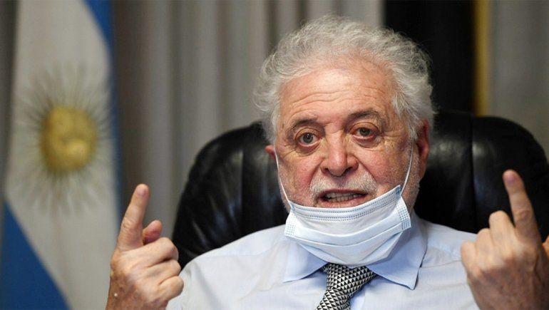 Ginés González García se mostró preocupado por la situación epidemiológica