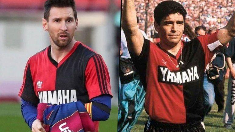 Newells pondrá en venta la edición retro de la camiseta que usó Maradona