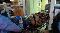 quintriqueo continua en grave estado y con asistencia respiratoria