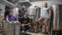 cuatro amigos y una fabrica de cerveza que crecio en pandemia
