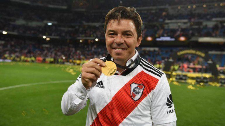 Rafael Borré habló sobre Gallardo y sus posibilidades a futuro fuera de River.