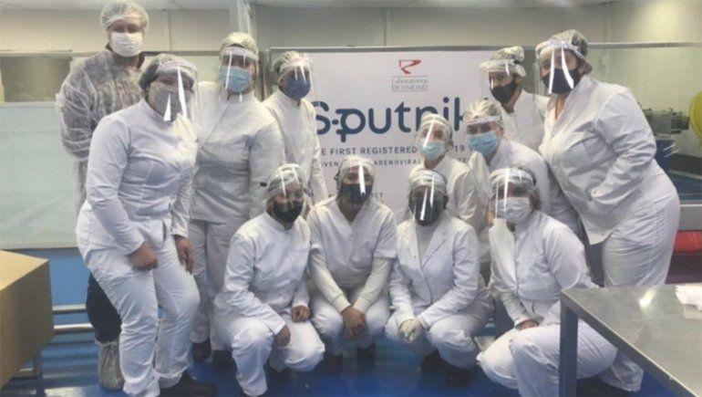 Este mes se aplicarán 3 millones de Sputnik V producidas en el país