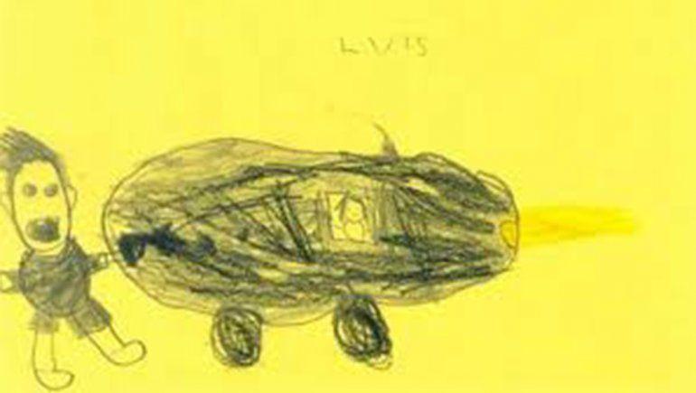 Nenes fueron testigos de un siniestro y se lo dibujaron a la Policía