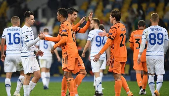 Juventus sumó sus primeros puntos en Champions League