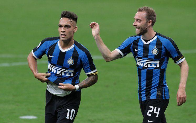 Eriksen es compañero de Lautaro en el Inter.